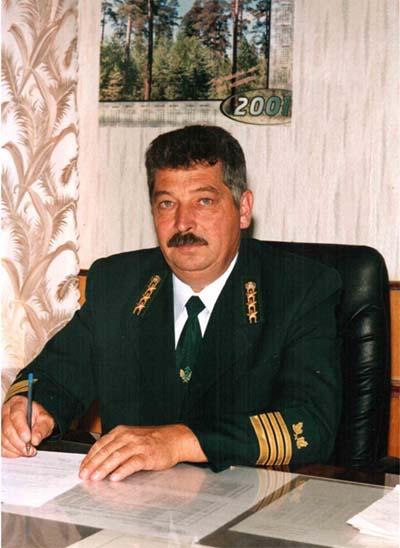 Азнакай урман хуҗалыгы хезмәткәре Альфир Габдрахман улы Галимов.